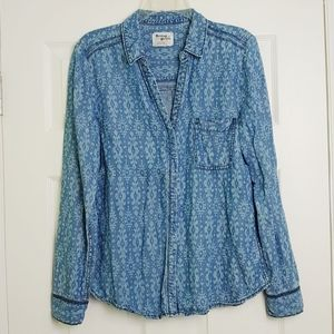 Holding Horses Heritage chambray button down